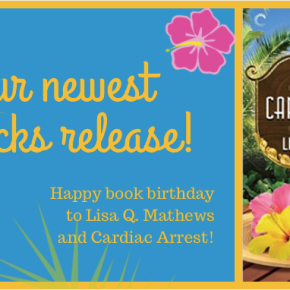 Happy Book Birthday to Lisa Q Mathews!
