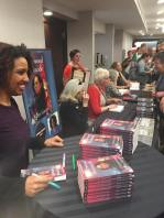 Kellye at the Midnight Ink book signing.