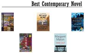 Agatha Best Contemporary Novel Nominees: We Asked, They Answered