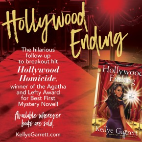 Celebrate our latest Chicks release: Hollywood Ending (A Detective by DayMystery)