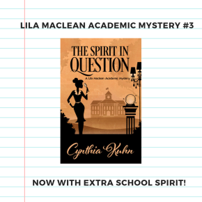 Book Birthday: The Spirit in Question