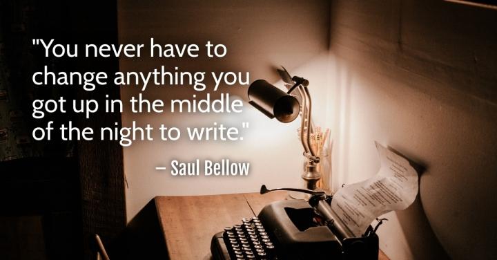 Typewriter Night