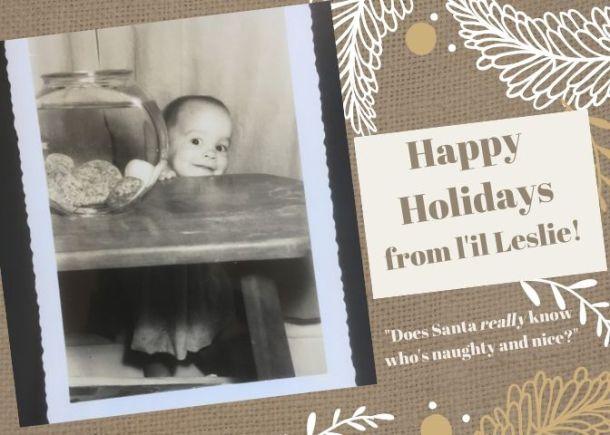 Leslie baby card 2