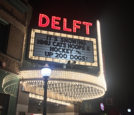 Delft Marquee Lighted