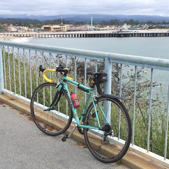 bike and boardwalk