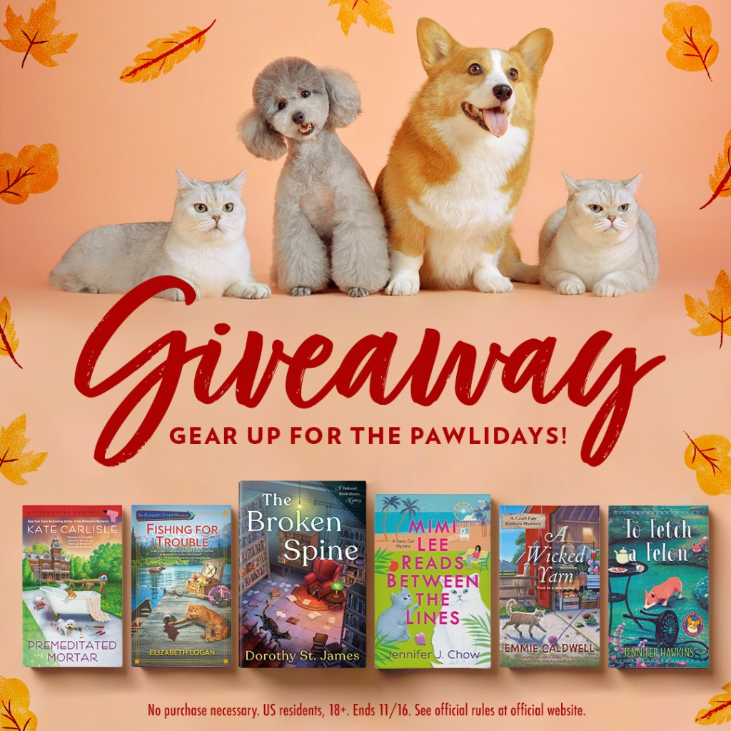 "Giveaway called ""Gear Up for the Pawlidays"""