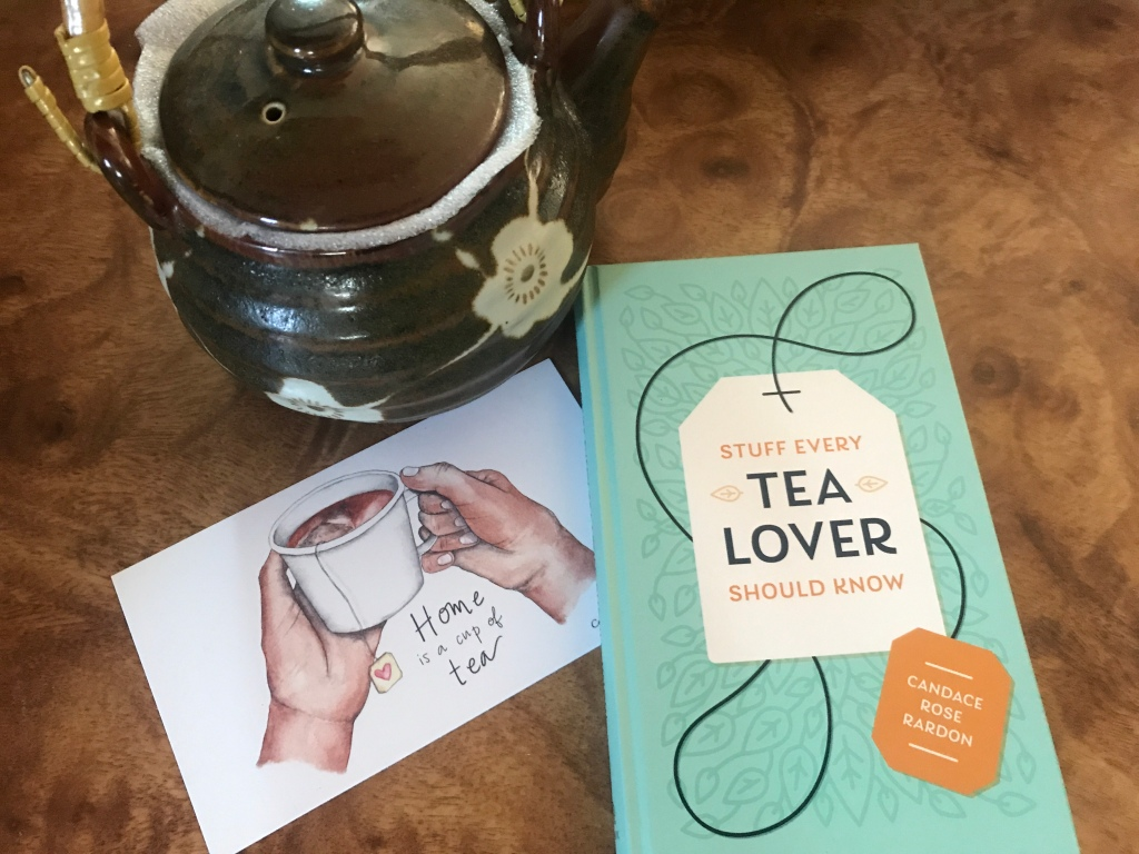 Stuff Every Tea Lover Should Know book and postcard and teapot