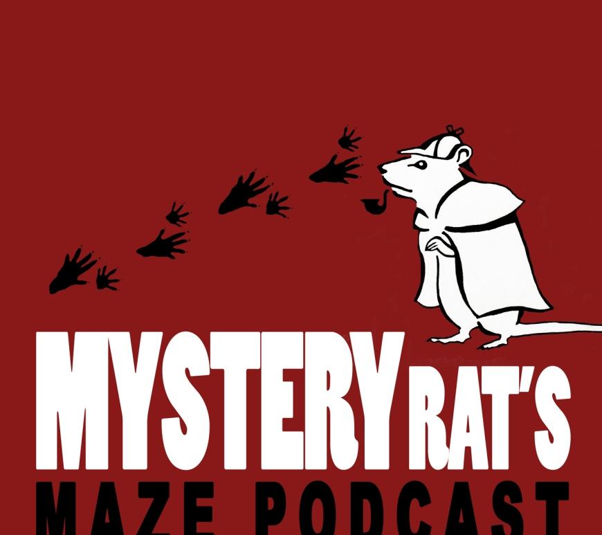 Mystery Rat's Maze Podcast logo